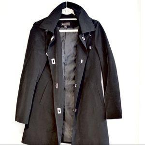 Dana Buchman hooded raincoat
